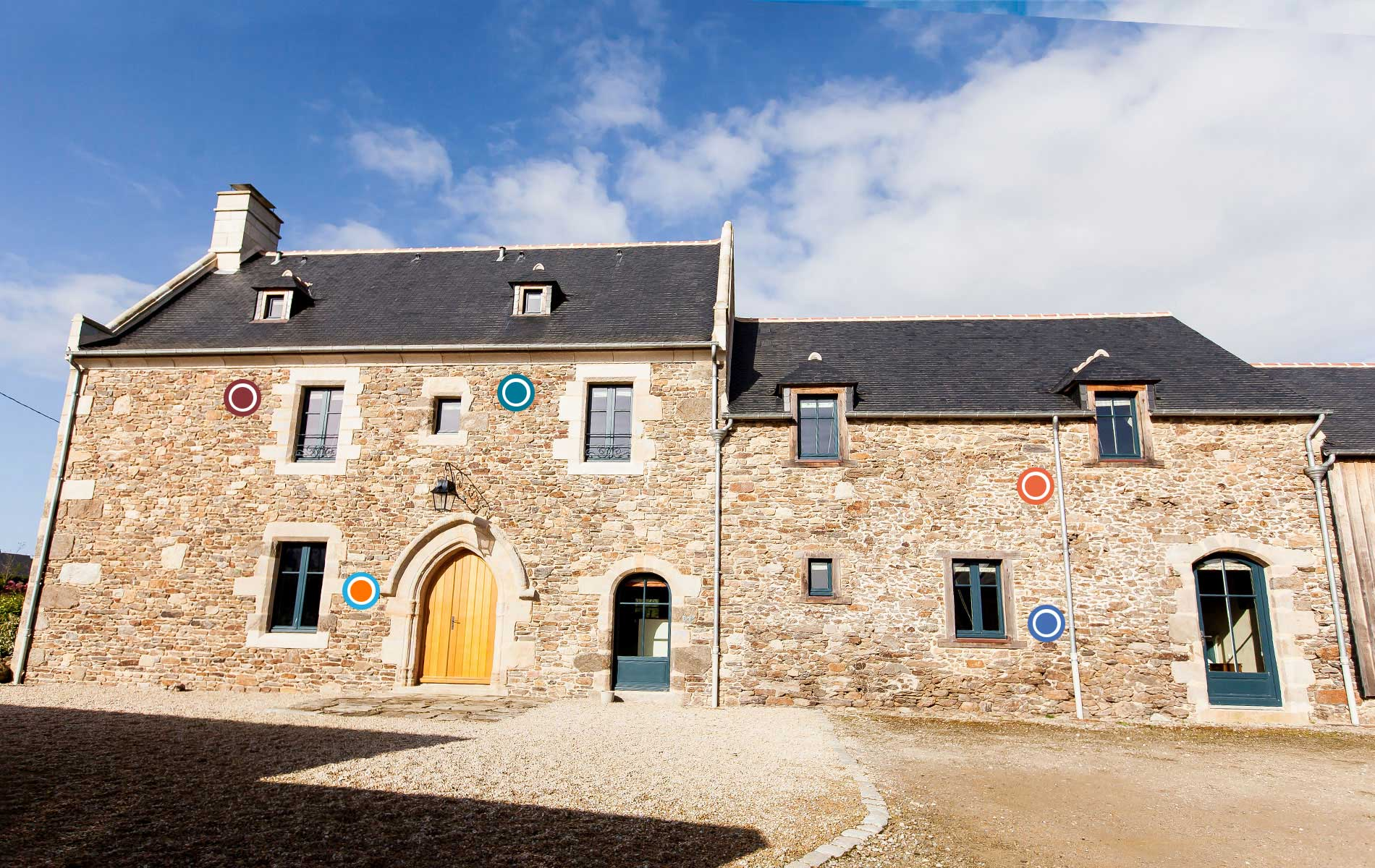 Family bed and breakfast StMalo Dinard